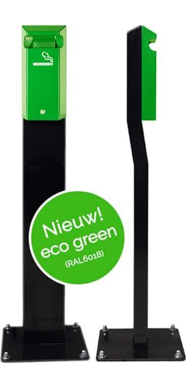 Staande asbak / rookzuil eco-groen